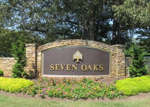 Seven Oaks Subdivision Johns Creek GA